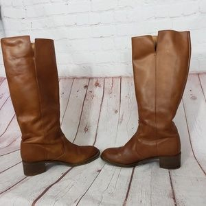 J. Crew Shoes - J Crew Leather Riding boots